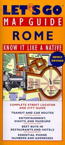 Let's Go Map Guide Rome (2nd Edition): Know It Like a Native (Let's Go: Map Guides)