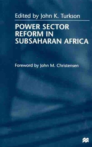 Power sector reform in SubSaharan Africa by